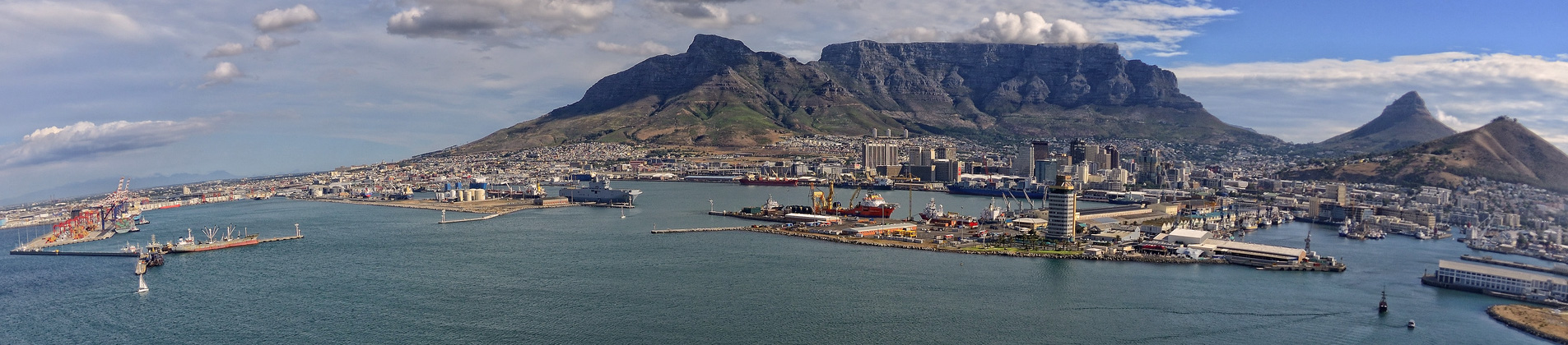 Port of Cape Town Aerial View
